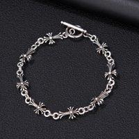 Fashion CH crosin H earts chrome Star Cross Bracelet men and fashion lovers bracelet for women hiphop men