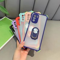 Camera Protection Phone Case For Mi 11 Lite 10T Poco X3 NFC F3 M3 9T 9A 9C Note 10 Pro Max 9 9S 8 Ring Holder Cover mobile phone shell
