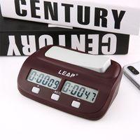 2020 전문 컴팩트 디지털 체스 시계 카운트 위로 타이머 전자 보드 게임 보너스 경쟁 마스터 토너먼트 무료 LJ201212