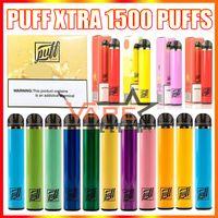 Puff Xtra Dispbalaje Vape Pen E Cigarrillo con 550mAh Batería 5ml PROPLED POD 1500 Puffs Kit de fumadores vs Puffbar XXL