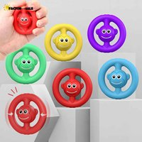DHL 3-7 days Delivery Monkey Children Adult Decompression Grip Silicone Acoustic Grip Play Exercise Finger Anti-stress Fidget Toy FJ09