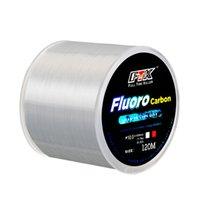 Ligne de pêche au revêtement fluorocarboné de 120 m à 0,20 mm-0.60mm 7.15LB-45LB Ligne de fibre de fibre de carbone Ligne de pêche Ligne de naufrage du fil Japon