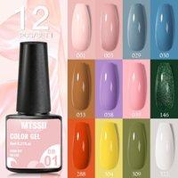 Nail Gel Mtssii 6 12pcs set Polish 6ml Hybrid Varnishes All For ManicureBase Top Coat Semi Permanent Need UV LED