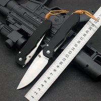 High hardness Outdoor Folding Knife Aluminum alloy Handle Blades D2 Hiking Camping Fruit Pocket EDC Hunting Self-defense Basic Knives Tool