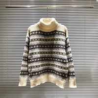 Mens Designer Sweaters Hoodies Womens Casual Round Neck Long Sleeve Sweater Couples High Quality Sweatshirt Black White Size S-3XL 905