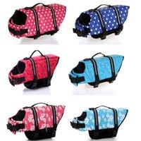 Yeni Tasarım Pet Köpek Hayat Kurtarmak Ceket Güvenlik Giysileri Yaşam Yelek Dışarıdan Koruyucu Yüzme Preserver Köpek Giysileri Mayo 524 x2
