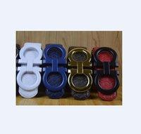 Cintura in vera pelle Big fibbia Designer da uomo Donna di alta qualità cinture da uomo con scatola