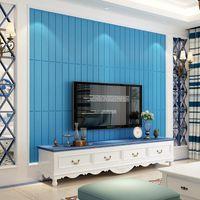 Wallpapers 3D Brick Wall Stickers DIY Decor Self-Adhesive Waterproof Wallpaper For Kids Room Bedroom Sticker