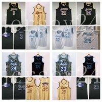 Jerseys de baloncestoLosisAngelesLakersLebron JamesAntonioDavis Black MambaBryantnbajerseys