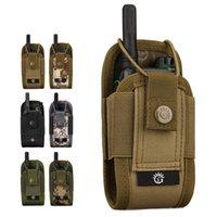Outdoor Bags Nylon Pouch Tactical Sports Pendant Military Molle Radio Walkie Talkie Fashion Portable Magazine Bag
