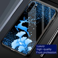 Cases Ginkgo leaf deer Shimmering Flash powder Phone case cover for iphone 6 6s 7 8 Plus x xr xs 11 12 13 pro max tempered glass shockproof Protector back casing