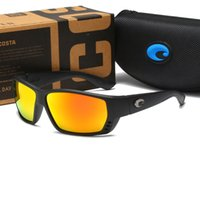 Erkekler Kadınlar Için High-End Polarizer Güneş Gözlüğü Markalar Kosta Spor Açık Havada Bisiklet Seyahat Sürücü Anti-parlama Git Balıkçılık Güneş Gözlükleri