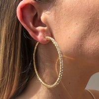 Luxury Designer Earrings Hip Hop Jewelry Hoop & Huggie Earring Minimalist Hiphop Charms Gold Silver Stud Ear Ring E9666 E8764