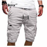 Pantalones cortos para hombres Tyburn Men Slim Fitness Casual TRABAJO Uniforme Medio pantalón Summer Jean Beach Algodón Pantalón corto Pantalones cortos