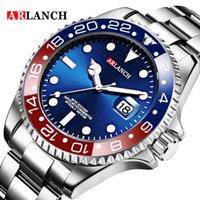 디자이너 시계 브랜드 시계 럭셔리 시계 손목 녹색 물 고스트 스테인레스 스틸 탑 스포츠 클래식 남성용