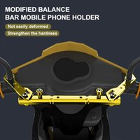 Handlebars Aluminum Motorbike Handlebar Cross-Bar Phone Holder Fixed Bracket Strength Lever Balance Motorcycle Accessories