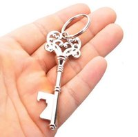 Vintage Keychain Keyring Beer Bottle Opener Coca Can Opening tool with Ring or Chain GGA5102