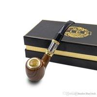 Electronic Cigarette ePipe 618 Kit Ewinvape E pipe 618 smoking pipe with 0.5ohm sub coil huge vape better vape 618 pipe wooden mod