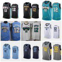 Ville gagnée édition JA 12 Jersey Basketball Jerseys Edition Hommes Couverte taille S-3XL