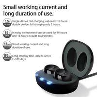 Aides auditives de l'oreille rechargeable USB portables Mini adjoint invisible Tonalité ajustable Amplificateur sonore pour les soins de santé des personnes âgées sourds
