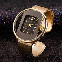Designer luxury brand watches ion Gold Stainless Steel Women's Bracelet Bangle es Trends Ladies Jewelry Bayan Kol Saati Clock