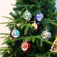 Weihnachtsbaum Lichter Santa Dekorationen Anhänger Galvanik Ball Weihnachtsgeschenke Verzierungen