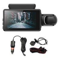 سيارة DVR عدسة الكاميرا FHD داش كام 1080P للرؤية الليلية وقوف السيارات مراقبة رصد مسجل القيادة مع DVRS النسخ الاحتياطي
