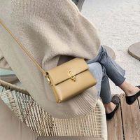 Handbag Small 2021 fashion leather women's Bag Messenger single shoulder versatile small square armpit