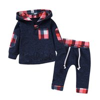의류 세트 태어난 된 옷 가을 봄 아기 소년 후드 + 바지 2pcs 복장 슈트 크리스마스 의상 유아 세트에 대 한