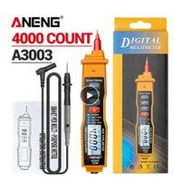 Aneng A3003 الرقمية متعددة القلم نوع القلم متر 4000 عدد مع عدم الاتصال AC / DC الجهد المقاومة السعة هرتز اختبار أداة