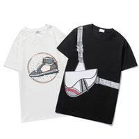 여름 망 디자인 티셔츠 탑 판매 고품질 T- 셔츠 남성과 여성 패션 짧은 소매 원형 목 코튼