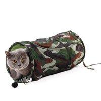 Pet Product Cat Cat Camouflage Туннель Игрушка с мячом Играть Fun Wild Wom Toys Складная оптоваявисса