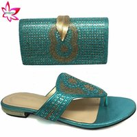 Dress Shoes Italian Women And Bag Set In Sky Blue Leisure Style African To Match For Wedding Party