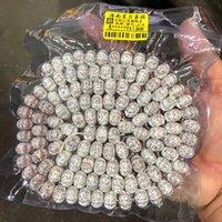 도매 hainan xingyue bodhi 씨앗 조각 호박 구슬 108 조각 Shunbai 음력 1 월 Xingyue 호박 구슬