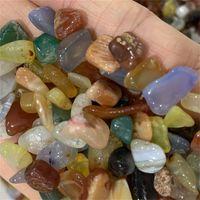 Perles de pierre collées de 200g et en vrac assortiment de pierres de pierres de pierres précieuses mixtes de pierre de cristal pour le chakra Guérison Agate naturel pour le 541 R2