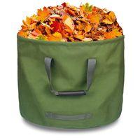 야외 가방 큰 용량의 중장비 정원 잎 폐기물 수납 가방 식물 꽃 쓰레기 재사용 가능한 원예 잔디 마당