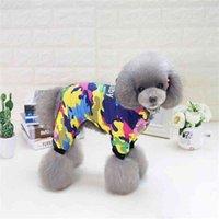 جديد Dangbaby مقنع أربعة أرجل التمويه نمط الحيوانات الأليفة الكلاب الشتاء القطن معطف جرو الكلاب الصغيرة معطف الملابس للكلب من S إلى xxl 210401