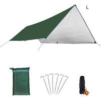 Waterproof Sun Shelter Triangle Sunshade Outdoor Canopy Garden Patio Pool Shades Sail Awning Camping Shade Cloth