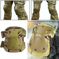 Elbow & Knee Pads Tactical Protective Gear Military Paintball Combat Hunting Skate Scooter Kneepads Sports Safety