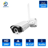 WIFI IP Kamera 3.0MP Açık Kızılötesi Gece Görüş Güvenlik Video Gözetim Ses Kayıt Jooan NVR H0901 Için Kablosuz Kamera