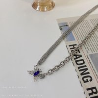 Pendant Necklaces Woman Butterfly Necklace Women Chain Lovers Jewelry Wedding Silver Color Trendy Kpop Party Zinc Alloy Collier