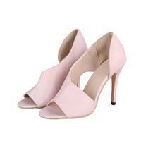 Dress Shoes Sapatos femininos de salto alto da cobra, sapatos sexy verão com do aberto e padrão chinelos porta pelúcia, tamanho 42 KQKS
