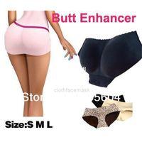 Мужская и женская одежда Shaper Hip Sexy Butting Женские мягкие усилители трусики трусики Booster Bum Pads Pad underwear Hapewearris9