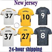 2021 Wolves Jerseys de football Home Away Adama Semedo Raul Neto Neves Wanderers J.otto Podence Wolverhampton Football Shirts Hommes Kids Kits Uniformes