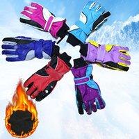 Ski Gloves Men Women Couple Waterproof Winter Cotton Warm Skiing Windproof Snow Mittens Cycling Snowboard