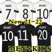 2021 Deutschland Fußball-Trikots TAH Gundogan REUS GNABRY WERNER KROOS 21 22 Kimmich Maillot de Foot Football Sane Goretzka KANN HAVERTZ MEN + KINDER