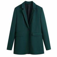 Saimishi Spring Autumn 2 Pieces Vintage Blazer Suit 2021 Office Lady Coat Pants Elegant Design Women Basic Urban Outfits Women's Suits & Bla