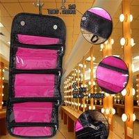Roll-n-go مجوهرات كيس وصول التجميل متعدد الوظائف أزياء المرأة ماكياج كيت جديد السفر شنقا حقيبة أدوات تجميلية Organcerta133 JBFMJ
