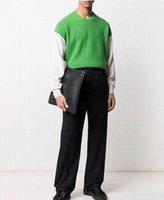 メンズセーター刺繍ファッションユニセックスパーカープルオーバースウェットシート男性トップスニット服アジアサイズM-3xL
