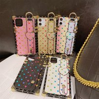 Lüks Aşk Bilezik Telefon Kılıfları Için iphone 12 11 Pro Max XR XS Samsung S8 S9 S10 Artı S10E Not 8 9